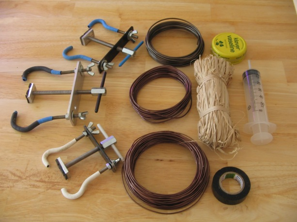 clamps-and-wire